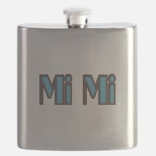 Mimi aqua and brown Flask