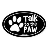 Dog paws Bumper Stickers