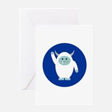 Lil Yeti Greeting Card