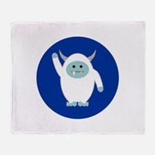 Lil Yeti Throw Blanket