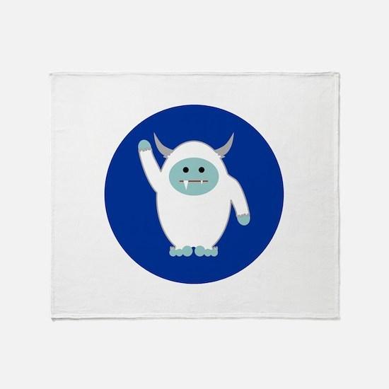 Lil Yeti Throw Blanket