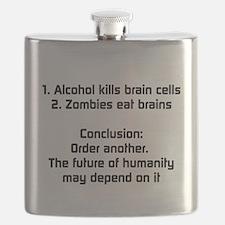 Zombie Theory Flask