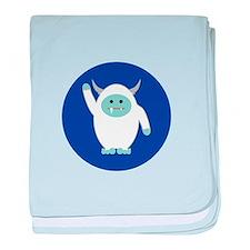 Lil Yeti baby blanket