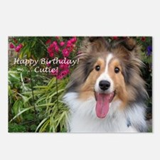Happy Birthday Cutie! Postcards (Package of 8)
