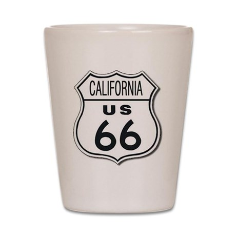 California Route 66 Sign Shot Glass