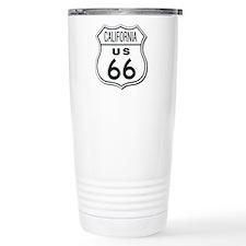California Route 66 Sign Travel Mug