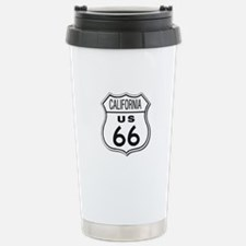 California Route 66 Sign Travel Mug