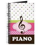 Piano Student Lesson Practice Gift Journal
