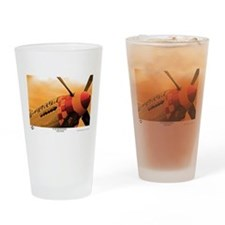 P-51 Mustang Old Crow Drinking Glass