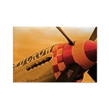 P-51 Mustang Old Crow Rectangle Magnet