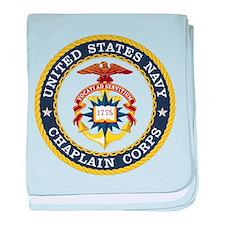 US Navy Chaplain baby blanket