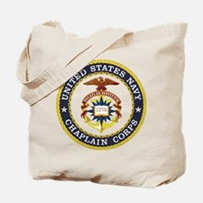 US Navy Chaplain Tote Bag