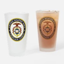 US Navy Chaplain Drinking Glass
