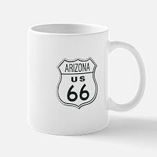 Arizona Classic Route 66 Sign Mug