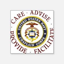 """Care Advise Provide Facilitate Square Sticker 3"""" x"""