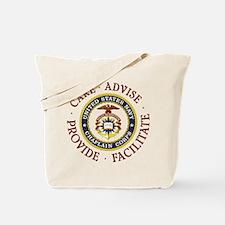 Care Advise Provide Facilitate Tote Bag