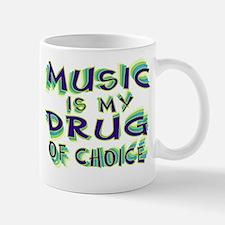 Music Is My Drug (grn) Mug