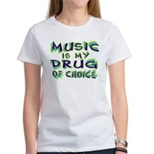 Music Is My Drug (grn) Tee