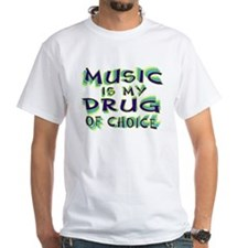 Music Is My Drug (grn) Shirt
