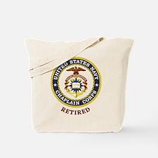 Retired US Navy Chaplain Tote Bag