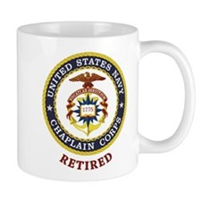 Retired US Navy Chaplain Mug