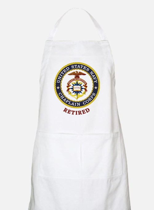 Retired US Navy Chaplain Apron