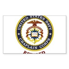Retired US Navy Chaplain Decal