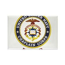 Retired US Navy Chaplain Rectangle Magnet