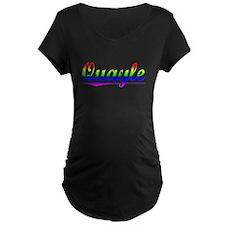 Quayle, Rainbow, T-Shirt