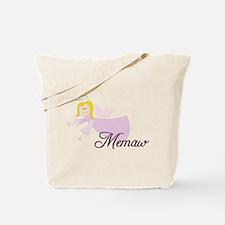Memaw Angel Tote Bag