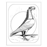 Carrier Pigeon 1978 Small Poster