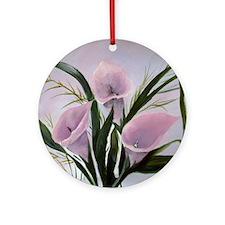 calla lilies Ornament (Round)