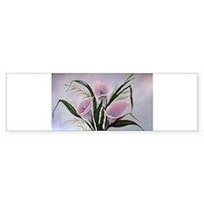 calla lilies Bumper Bumper Sticker
