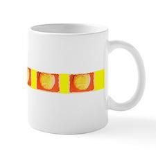 Yellow Orange Tennis Balls x5 Designer Mug