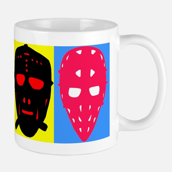 Vintage Hockey Goalie Masks Mug