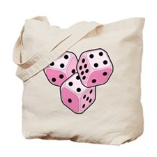 Bunco Breast Cancer Dice Tote Bag