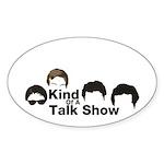 KOATS Cast T-Shirt Sticker (Oval 50 pk)