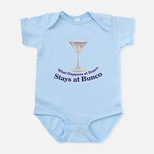 What Happens at Bunco Infant Bodysuit
