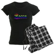 Rocco, Rainbow, Pajamas