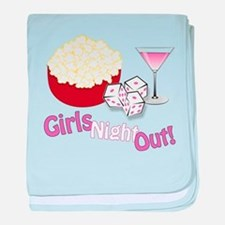 Girls Night Out baby blanket