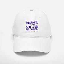Music Is My Drug (pr) Baseball Baseball Cap
