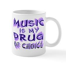 Music Is My Drug (pr) Mug