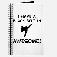 Black Belt Awesome Journal
