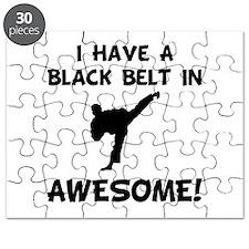 Black Belt Awesome Puzzle