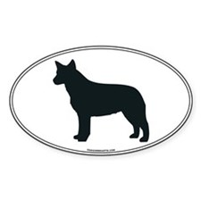 ACD Silhouette Oval Decal
