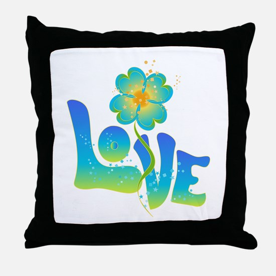Max Love Throw Pillow