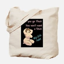 2-big girls rule.jpg Tote Bag