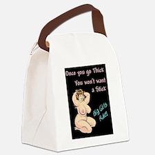 2-big girls rule.jpg Canvas Lunch Bag