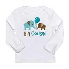 Big Cousin - Elephant Long Sleeve T-Shirt