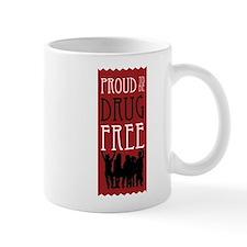 Proudly Drug Free Mug
